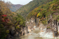 Ryuyo Gorge canyon Nikko Japan