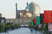 Imam Moschee, Isfahan, Iran, Asien