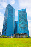 Singapore business office buildings