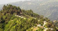 Guatemala Landscape Rural Village