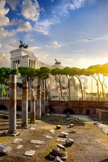 Great Vittoriano in Rome