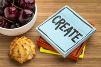 create - advice, reminder or encouragement