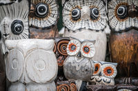 Wooden owls for sale