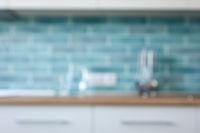 Blur image of Kitchen Room interior.