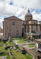 Church of St Luca and St Martina in Rome