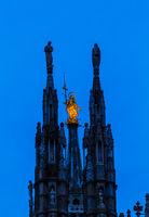 Milan Cathedral (Duomo di Milano) in Italy