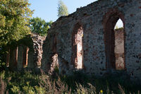 The ruins of an ancient church