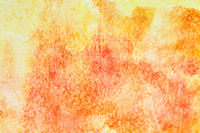 Orange hand-drawn watercolor background