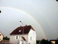 Regenbogen über Schildbach