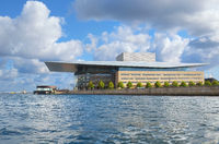 The Copenhagen Opera House (Operaen) in Copenhagen.