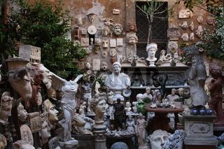 Rom, Werkstatt eines Bildhauers