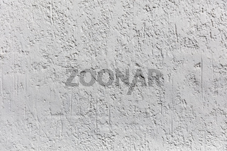 Weißer Putz an Wand als Hintergrund Textur