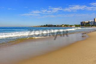 Copacabana beach and fort