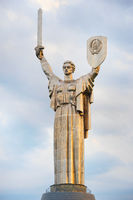 Mother Motherland statue. Kiev, Ukraine
