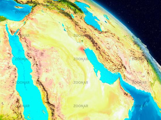 Kuwait on Earth