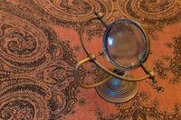 Vintage magnifier loupe - Selective focus
