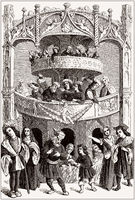 Theater in the 16th century