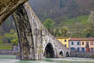 Ponte della Maddalena in Borgo a Mozzano