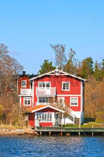 Schwedenhaus am Meer