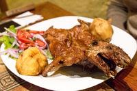 Roasted Guinea Pig