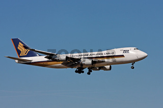 Singapore Airlines Cargo Boeing 747-412F