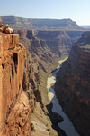 Grand Canyon North Rim, Nordrand, Toroweap point, Colorado river