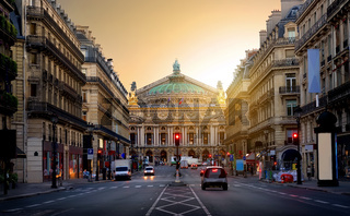 Grand Opera in Paris