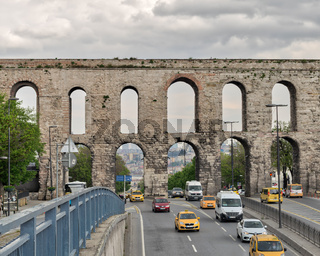 Valens Aqueduct a Roman aqueduct which was the major water providing system of the Eastern Roman capital of Constantinople (Currently Istanbul)