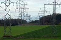 Stromtrasse in den Süden
