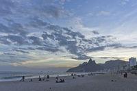 Ipanema Sunset, Rio de Janeiro, Brazil