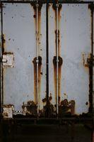 Verrosteter Container