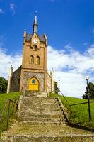 Kirche in Wulkow bei Neuhardenberg, Brandenburg, Deutschland