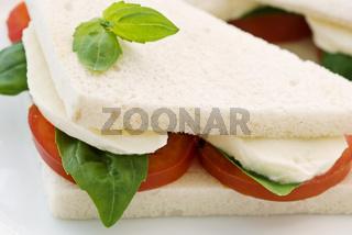 Tomato Mozzarella sandwich