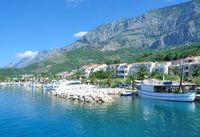 Urlaubsort Tucepi an der Makarska Riviera,Adria,Dalmatien,Kroatien
