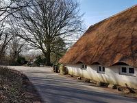 Reetgedecktes Bauernhaus in Schleswig-Holstein
