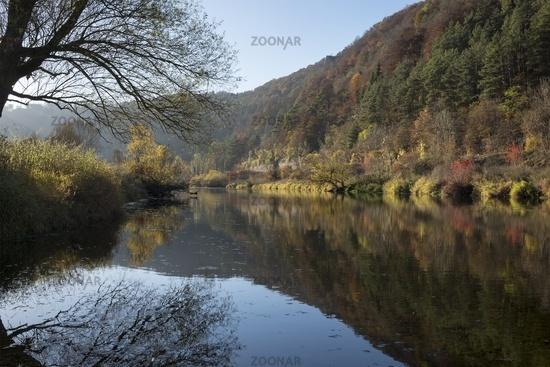 Herbst im oberen Donautal