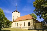 Dorfkirche Pausin, Schönwalde-Glien, Brandenburg, Deutschland
