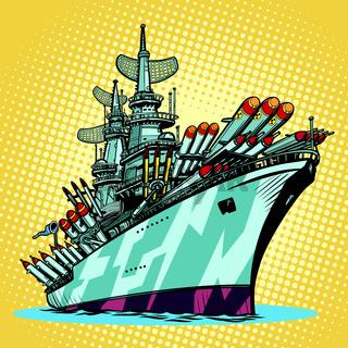 battleship warship, missile cruiser