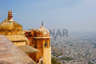 View of Jaipur city from Nahargarh, Rajasthan
