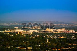 Panorama of Islamabad, Pakistan