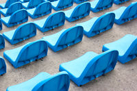 blue seats
