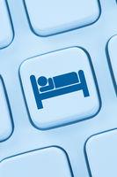 Hotel Übernachtung Zimmer Hotelzimmer Reise online buchen Internet