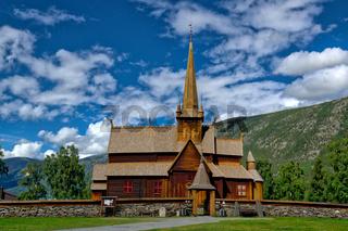 Stabkirche in Lom-3