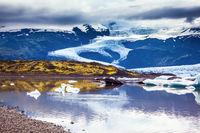 The colossal glacier Vatnajokull