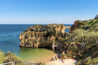 Batata beach, Lagos, Algarve, Portugal