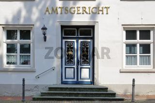 Eingang zum Amtsgericht Aurich