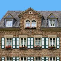 Historisches Gebäude in der Altstadt von Cochem