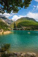 The  bridge over river Verdon in Provence