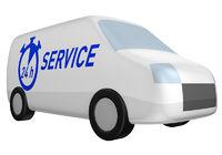 Service Lieferwagen