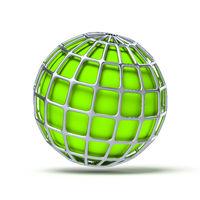 green globe ball